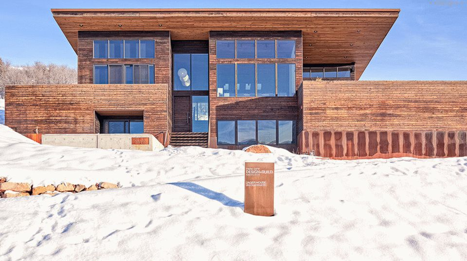 Holzhaus von Park City Design Build